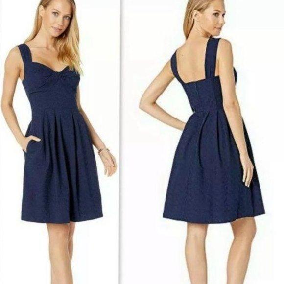 Lilly Pulitzer Navy Cindi Dress 12